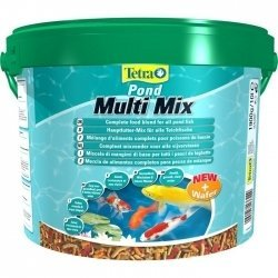 TetraPond MultiMix гранулы, хлопья,таблетки10л.