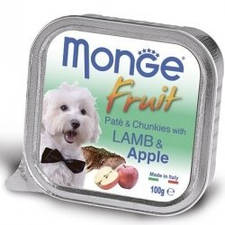 Консервы Monge Dog Fresh для собак ягненок 100 г