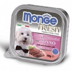 Консервы Monge Dog Fresh для собак тунец 100 г
