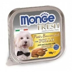 Консервы Monge Dog Fresh для собак курица 100 г